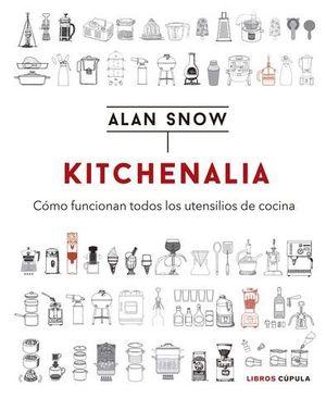 KITCHENALIA.  COMO FUNCIONAN TODOS LOS UTENSILIOS DE COCINA