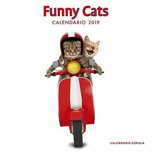 CALENDARIO FUNNY CATS 2019
