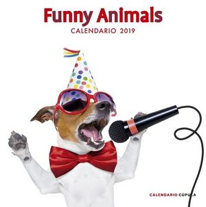 CALENDARIO FUNNY ANIMALS 2019
