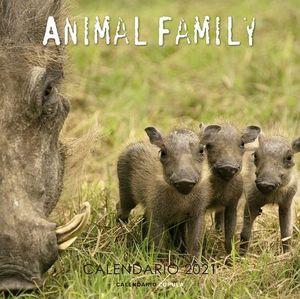 CALENDARIO ANIMAL FAMILY 2021.
