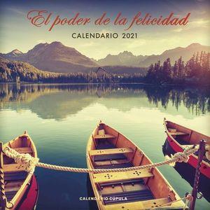 CALENDARIO EL PODER DE LA FELICIDAD 2021.