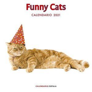 CALENDARIO FUNNY CATS 2021.