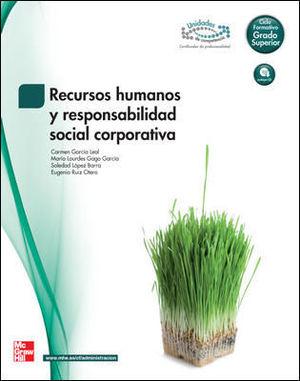 RECURSOS HUMANOS Y RESPONSABILIDAD SOCIAL CORPORATIVA GRADO SUPERIOR