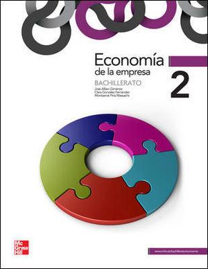 ECONOMIA DE LA EMPRESA 2º BACHILLERATO ED. 2013
