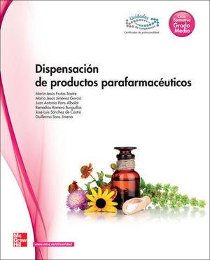 DISPENSACION PRODUCTOS PARAFARMACEUTICOS GRADO MEDIO ED. 2013