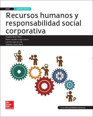 RECURSOS HUMANOS Y RESPONSABILIDAD SOCIAL CORPORATIVA G SUPERIOR 2016