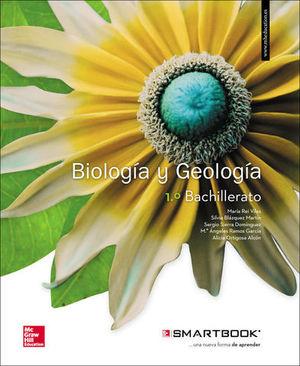 BIOLOGIA Y GEOLOGIA 1º BACHILLER SMARTBOOK  ED. 2017