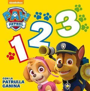 PAW PATROL . 1,2, 3  CON LA PATRULLA CANINA