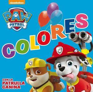 PAW PATROL . TODO CARTON COLORES