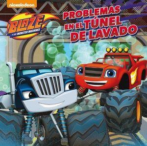 BLAZE Y LOS MONSTER MACHINE PROBLEMAS EN EL TUNEL DE LAVADO