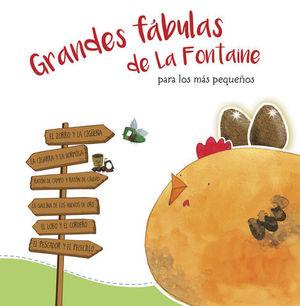 GRANDES FABULAS DE LA FONTAINE PARA LOS MAS PEQUEÑOS