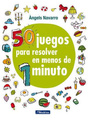 50 JUEGOS PARA RESOLVER EN MENOS DE 1 MINUTO