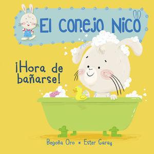 EL CONEJO NICO  ¡HORA DE BAÑARSE!