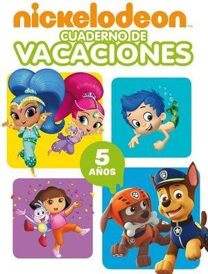 NICKELODEON CUADERNO DE VACACIONES 5 AÑOS ED. 2018