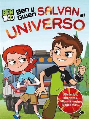 BEN 10.  BEN Y GWEN SALVAN EL UNIVERSO