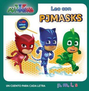 PJMASKS. UN CUENTO PARA CADA LETRA: P, M, L, S