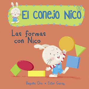 EL CONEJO NICO.  LAS FORMAS CON NICO
