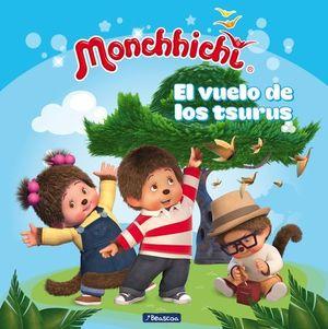 MONCHHICHI.  EL VUELO DE LOS TSURUS