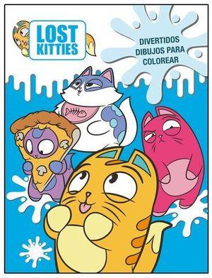 LOST KITTIES.  DIVERTIDOS DIBUJOS PARA COLOREAR