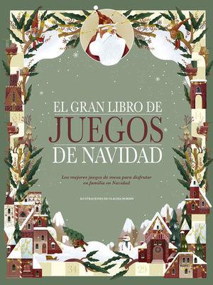 EL GRAN LIBRO DE JUEGOS DE NAVIDAD LOS MEJORES JUEGOS DE MESA PARA DIS