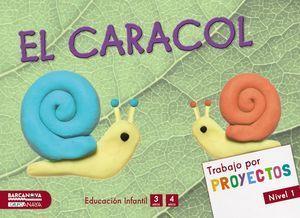 POR PROYECTOS NIVEL 1 EL CARACOL ED. 2015