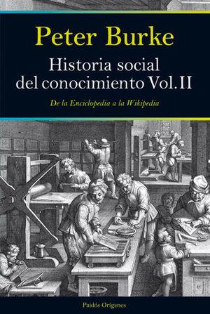 HISTORIA SOCIAL DEL CONOCIMIENTO VOL II