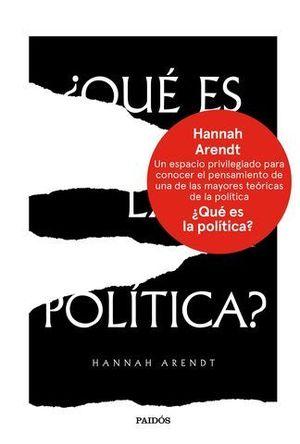 QUE ES LA POLITICA?