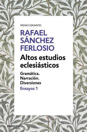 ALTOS ESTUDIOS ECLESIÁSTICOS.  ENSAYOS 1