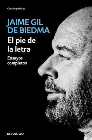 EL PIE DE LA LETRA ENSAYOS COMPLETOS