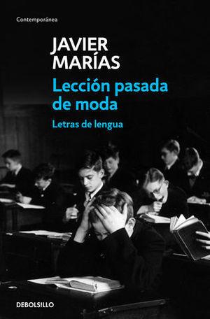 LECCIÓN PASADA DE MODA.  LETRAS DE LENGUA