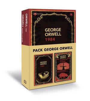 PACK GEORGE ORWELL (CONTIENE: 1984 \ REBELIÓN EN LA GRANJA)