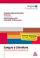 LENGUA Y LITERATURA PRUEBA LIBRE GRADO MEDIO: PRUEBA DE ACCESO
