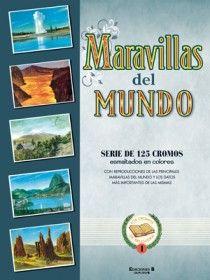 MARAVILLAS DEL MUNDO SERIE DE 128 CROMOS