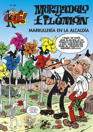 MARRULLERIA EN LA ALCALDIA OLE MORTADELO Nº 189