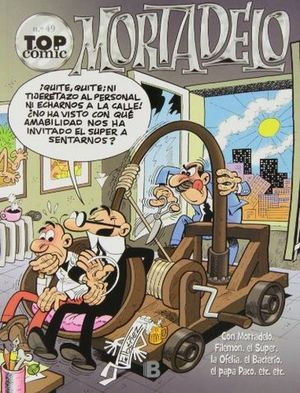 MORTADELO TOP COMIC Nº 49