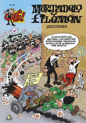 OLE MORTADELO Nº 203 ¡ ELECCIONES !