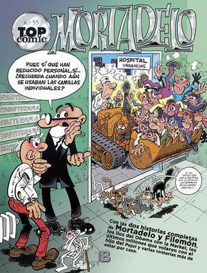 TOP COMIC MORTADELO Nº 55