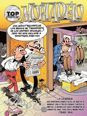 TOP COMIC MORTADELO Nº 56
