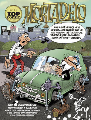 TOP COMIC Nº 61 MORTADELO
