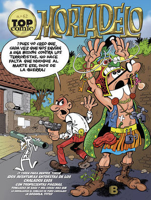 TOP COMIC MORTADELO Nº 62
