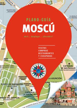 MOSCÚ ( PLANO - GUÍA )   ED. 2018