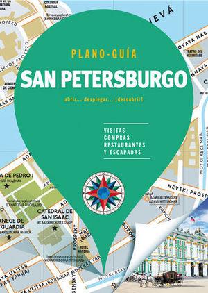 SAN PETERSBURGO ( PLANO - GUÍA )  ED. 2018