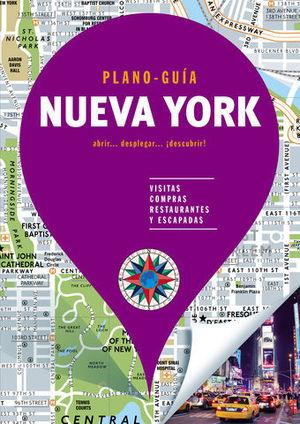 NUEVA YORK PLANO - GUIAS  ED. 2019