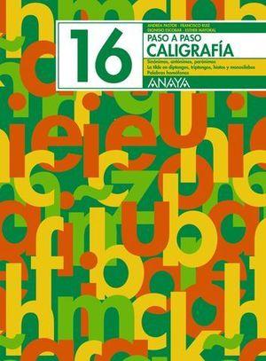 PASO A PASO 16 CALIGRAFIA