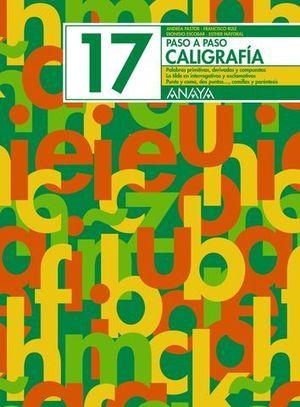 PASO A PASO 17 CALIGRAFIA