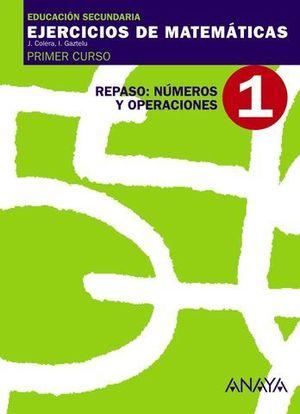 CUADERNO DE MATEMATICAS 1º ESO Nº 1 NUMEROS Y OPERACIONES ED. 07