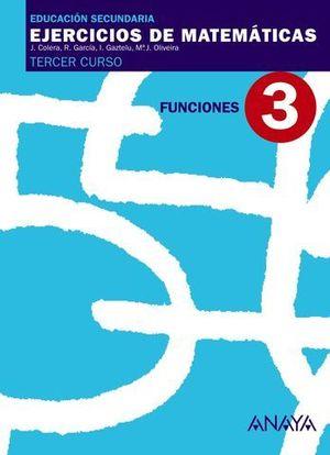 CUADERNO DE MATEMATICAS 3º ESO Nº 3 FUNCIONES ED. 2007