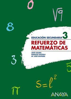 REFUERZO DE MATEMATICAS 3º ESO