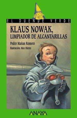 KLAUS NOWAK LIMPIADOR DE ALCANTARILLAS