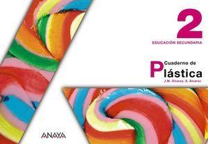 CUADERNO DE PLASTICA 2º ESO ED. 2012